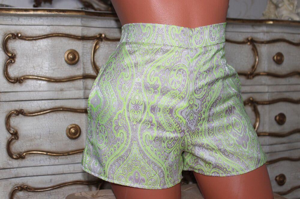(11) Missguided Polyester & Coton Mélangé Femme Ajusté Shorts-taille 8 Neuf