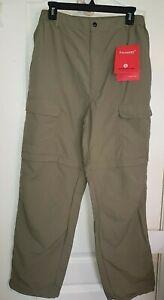 NWT-Convertible-Zip-Off-Pants-to-Shorts-Mens-Hiking-Fishing-Outdoors