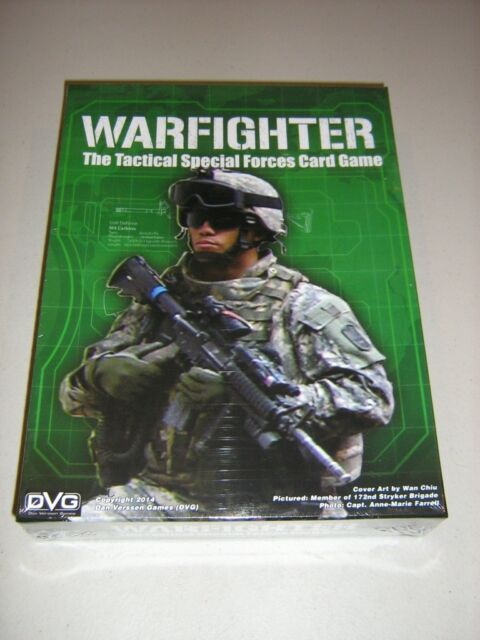 Warfighter: The Tactical Special Forces Card Game 2nd Edition (New)