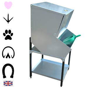 Metal Feed Bin High Rodent Proof Front Access Storage Pet