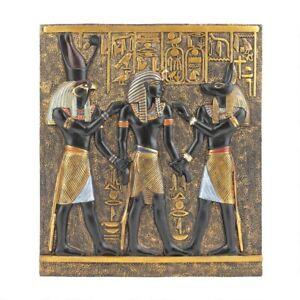 Rameses-I-Between-Horus-And-Anubis-Design-Toscano-Hand-Painted-Wall-Frieze
