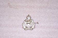 WWII 2 Canadian Algonquin Regiment Cap Badge
