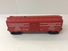 Lionel 6470 Red Exploding Boxcar EX /box