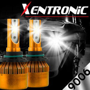 XENTRONIC LED HID Headlight Conversion kit 9006 6000K for 1996-2004 Dodge Viper