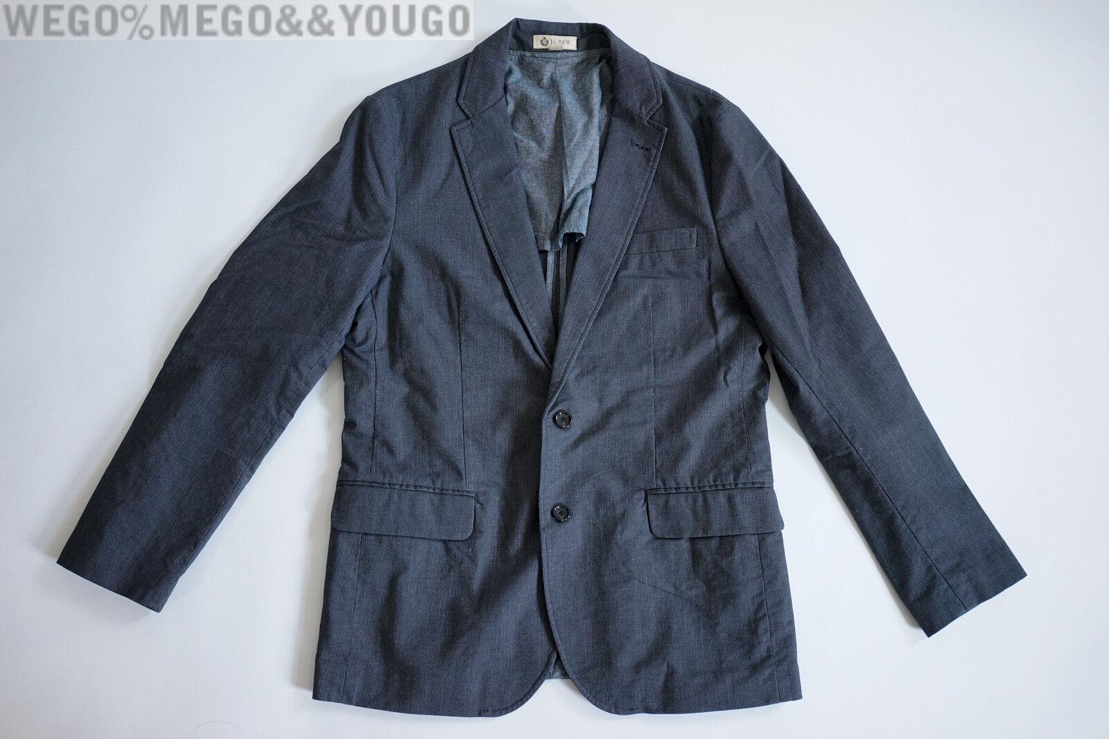 J Crew Ludlow Sportcoat in Stripe Cotton size Medium M Style 23557