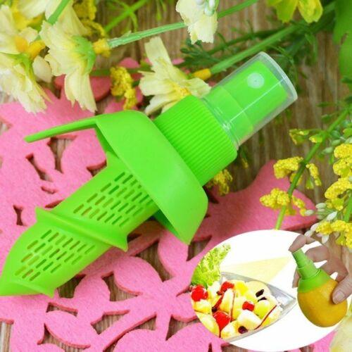 5pcs Kitchen Home Mini Squeezer Lemon Juice Sprayer Fruit Citrus Spray