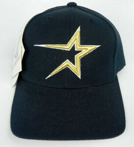 HOUSTON-ASTROS-MLB-VINTAGE-1990s-RETRO-LOGO-NAVY-HOME-CAP-HAT-SNAPBACK-NWT-RARE