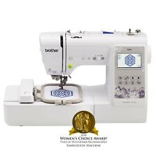 Brother SE600 Computerized Sewing and Embroidery Machine  - White