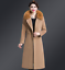 Womens-Warm-Wool-Trench-Long-Coat-Parka-Faux-Fur-Collar-Winter-Jacket-Overcoat thumbnail 7