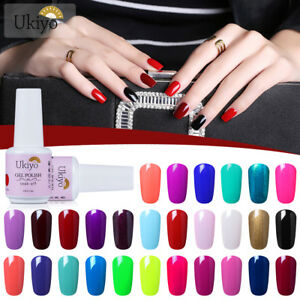 Ukiyo-15ml-Soak-Off-UV-Gel-Nail-Polish-UV-LED-Varnish-No-Wipe-Top-Coat-Base-Coat