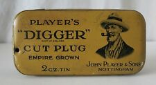 "PLAYER'S ""DIGGER"" VINTAGE TOBACCO TIN, JOHN PLAYER & SONS, NOTTINGHAM"