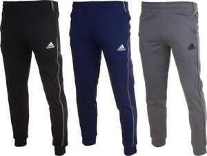 b18b93fec Image is loading adidas-Men-Core-18-Fleece-Football-Tracksuit-Cotton-