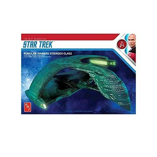 AMT 1125 Star Trek Romulan War Bird Plastic 1:3200 Scale Model Kit AMT
