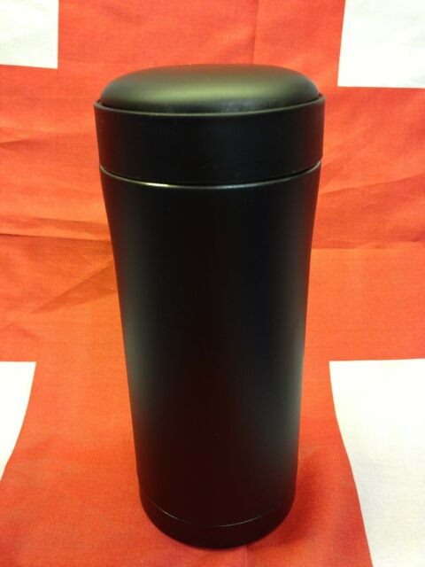 Army PLCE Ammo Pouch Matt Black Thermal Mug /Military Thermos Drinks Flask NEW