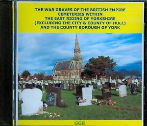 WAR-GRAVES-OF-EAST-RIDING-CEMETERIES-CD-ROM