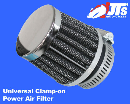 UNIVERSAL CLAMP ON POWER AIR FILTER 35mm HONDA CB125 TDC TDE SuperDream 82-87