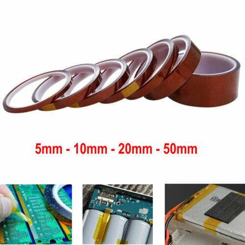 33m Kapton Tape BGA PCB High Temperature Heat Resistant Polyimide Tape Tool Home