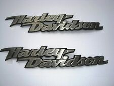 Original H-D Harley-Davidson TANK EMBLEM Tankschilder Tankemblem  *62309-06 SET*