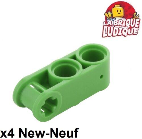 Baukästen & Konstruktion Lego TECHNIK 4x Achse Stift Steckverbinder 3L 2 Löcher grün/bright grün 42003