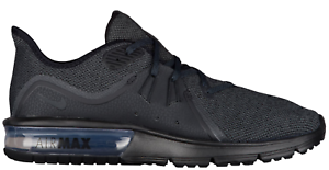 New Men's Nike Air Max Sequent 3 Black/Anthracite 921694-010 Running Shoes c1
