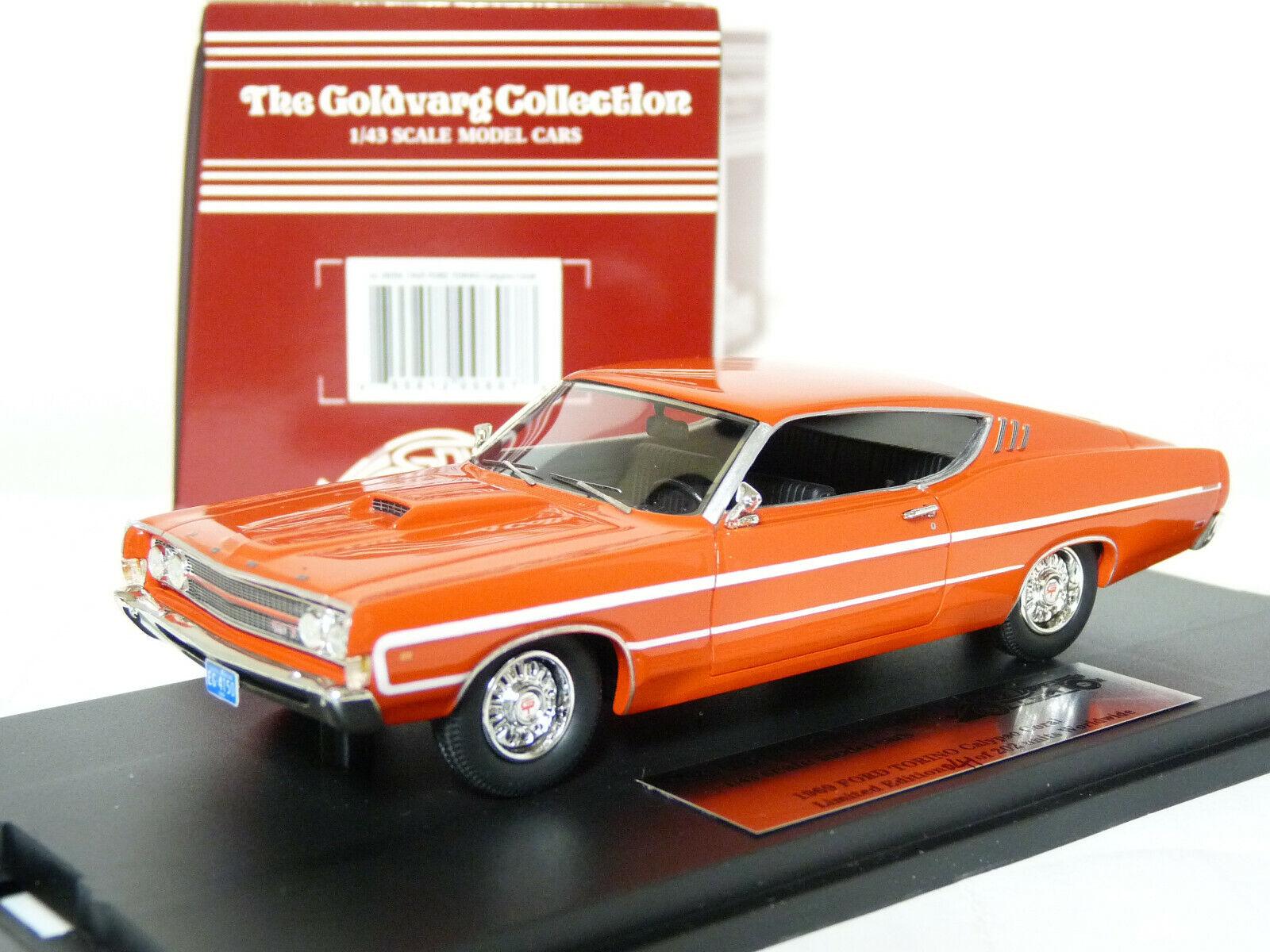 producto de calidad orovarg GC-009A 1 43 1969 Ford Torino Coche Modelo Modelo Modelo de Resina  ¡No dudes! ¡Compra ahora!
