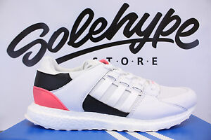 ADIDAS EQT SUPPORT ULTRA RUNNING WHITE CORE BLACK TURBO PINK BA7474 SZ 8