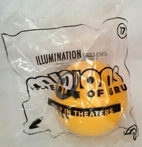 2020-McDonald-039-s-Happy-Meal-Toys-MINIONS-2-THE-RISE-OF-GRU-17-GOLD-NEW-in-BAG