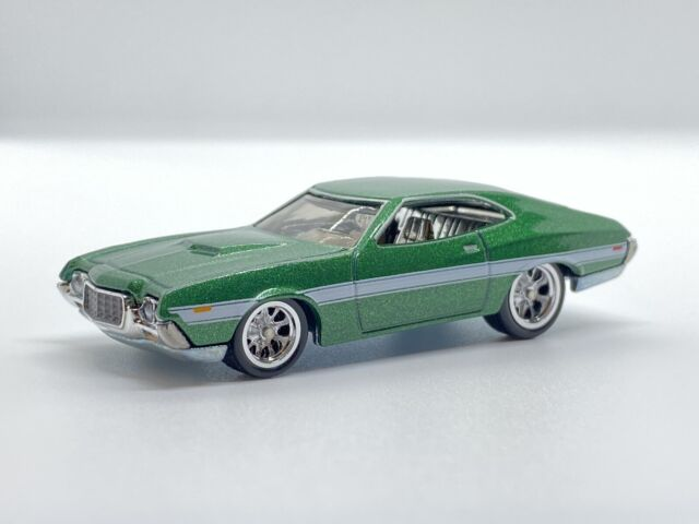 Hot Wheels Ford Gran Torino Sport Fast and Furious GBW75-956G 1//64