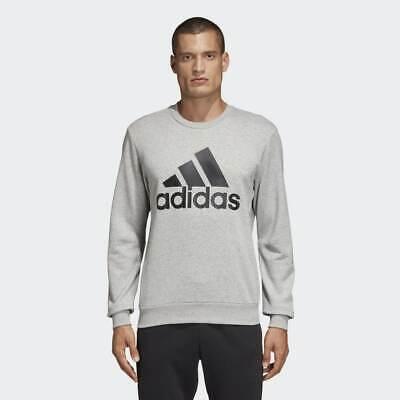 BRAND NEW $75 Adidas Men's MUST HAVES BADGE OF SPORT CREW SWEATSHIRT DT9937 | eBay