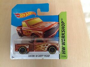 Hot Wheels New Toy Model Car 217250 Custom 03969 Chevy Pickup Sealed - <span itemprop=availableAtOrFrom>Leicestershire, United Kingdom</span> - Hot Wheels New Toy Model Car 217250 Custom 03969 Chevy Pickup Sealed - Leicestershire, United Kingdom