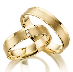 GOLD Platiert T365 2 SILBER Partner Ringe Trauringe Eheringe Gravur Gratis