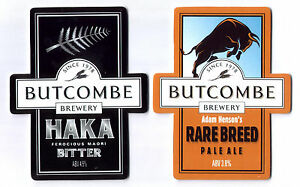 Beer pump clip badge front BUTCOMBE brewery RARE BREED real ale NEW Bristol