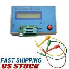 30pf 100mf Mos Transistor Tester Diode Capacitance Esr Resistance Meter Pnp Npn