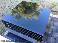 Tischplatte Arbeitsplatte Naturstein Marmor Granit schwarz Abdeckung Steinplatte
