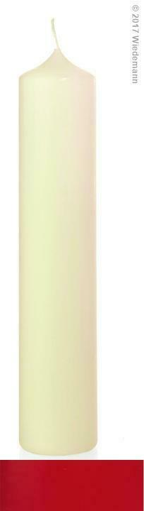 8x Altarkerze Ceresin 300 80mm (Farbwahl)