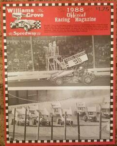 1988-Williams-Grove-Speedway-Program-Vol-1-Opening-Day-Jim-Nace