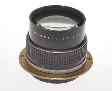 """Carl Zeiss Jena fast 165/2.7 16.5cm F:2.7 Tessar c.1925 with """"strange"""" mount"""