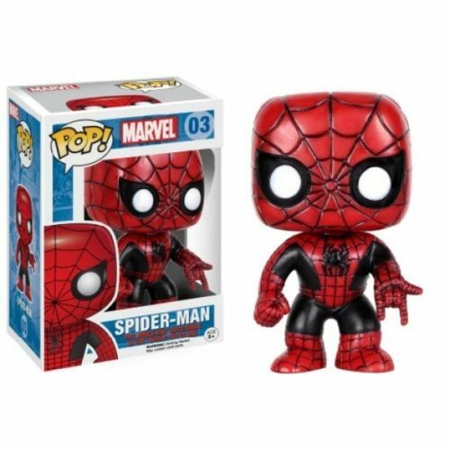 The Amazing Spider-Man Red and Black (Marvel) Funko Pop! Vinyl Figure