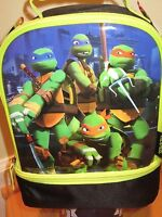 Thermos Dual Compartment Lunch Kit, Tmnt Teenage Mutant Ninja Turtles,lunch Bag