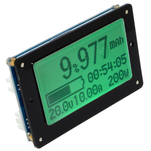 TF02N 50V 50A Battery Capacity Tester Volt/&Current Digital Meter Coulomb Counter