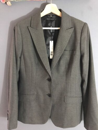 Størrelse 398 Jakke Uk16 Suit Dame Top Blazer Tahari Nwt Elie It48 Us12 wRAZgg