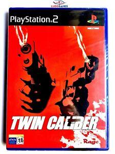 Twin-Caliber-PS2-PLAYSTATION-Neuf-Scelle-Videogame-Retro-Nouveau-Pal-Spa