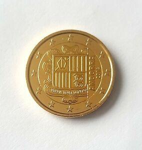 ANDORRE 2014 - 2 Euros de la Série - Plaquée or - Doré - Vergoldet