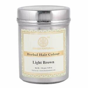 Khadi-Natural-Herbal-Light-Brown-Henna-150-g-Free-Shipping