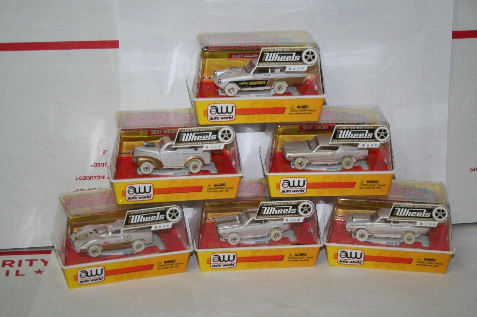 Auto World ho slot cars 53 STUDEBAKER Drôle Voiture Set iwheels 1 de 150 version 2