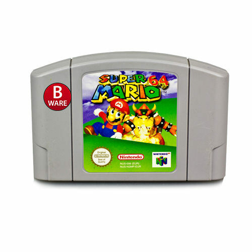 Nintendo 64 - N64 Game Super Mario 64 (B-Stock) #002B
