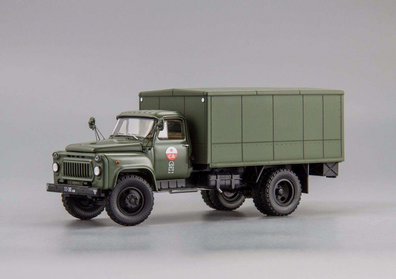 Газ - 53 афк - 53  автофургон  1980 г.  gaz-53 dip - modelle 1   43 l.e. 360 stk.