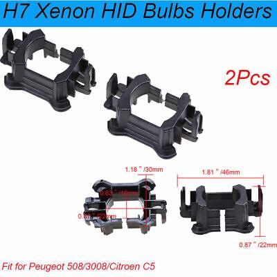 H7 Xenon HID Bulb Lamp Light Holders Adapters TR34RI For Mazda 5 6