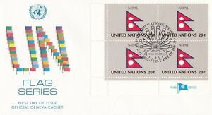 UN171-United-Nations-1983-Nepal-20c-Stamp-UN-Flag-Series-FDC-Price-8