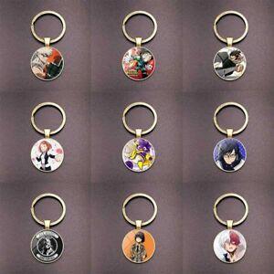 Anime-My-Hero-Academia-Time-Edelstein-Bronze-Schluesselanhaenger-Alle-Fein-ewDkc